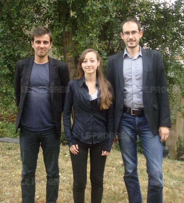 Amaury, Christelle, David-Marie