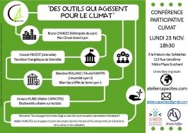 Conférence-débat du 23-11-2015 sur le Climat