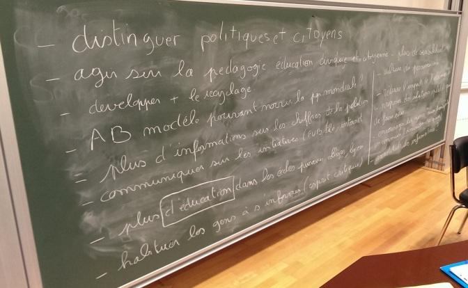 BILAN DES CINE-DEBATS «COP21 : AGIR POUR LE CLIMAT»