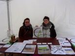 """Stand Atelier CAPACITES, avec 2 deux services civiques Sophie et Julie - Festival """"Cultive ta ville"""" (13-15/01/17)"""
