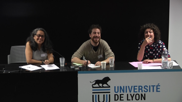 Table-ronde #1 - Jonathan Bocquet, Silvia Rosales-Montano et Pauline Bance