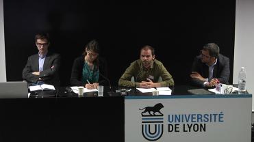 Table-ronde #2 - Cyril Pouvesle, Jean-Baptiste Roussat, Francesca Quercia et Matthias Lecoq