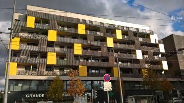 Nouveaux aménagements urbains (Lyon Duchère)