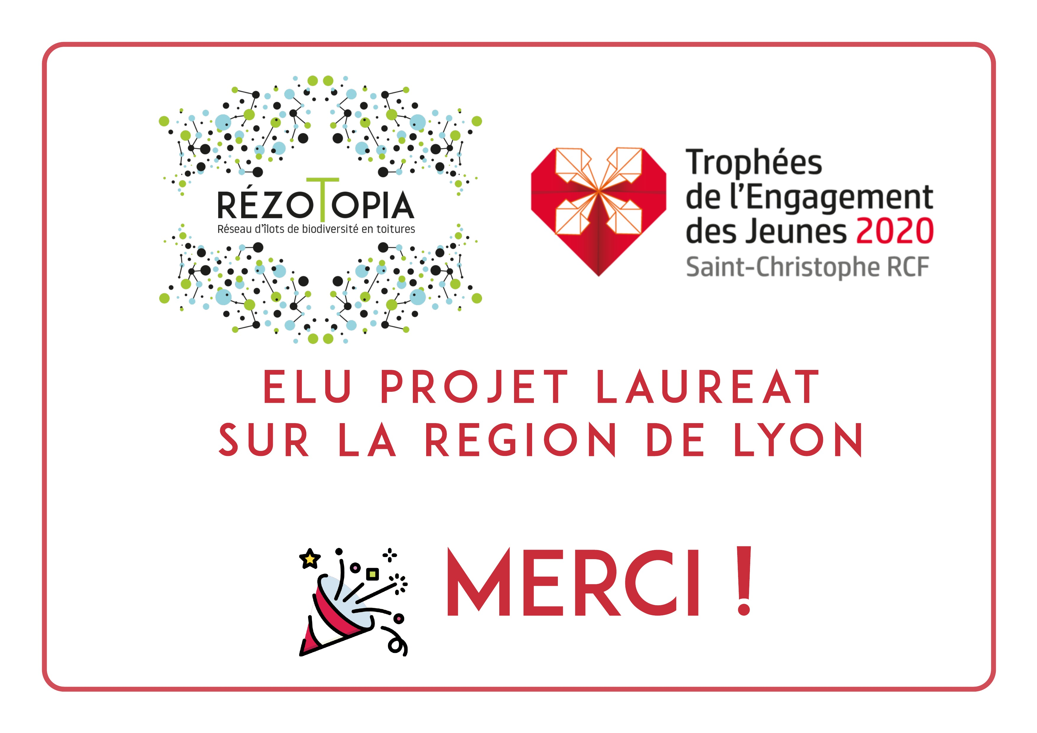 Lauréat région rhône-alpes - Trophées de lengagement